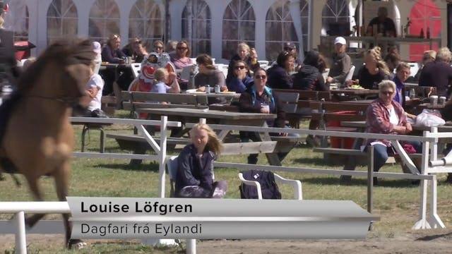 Louise Löfgren - Dagfari frá Eylandi