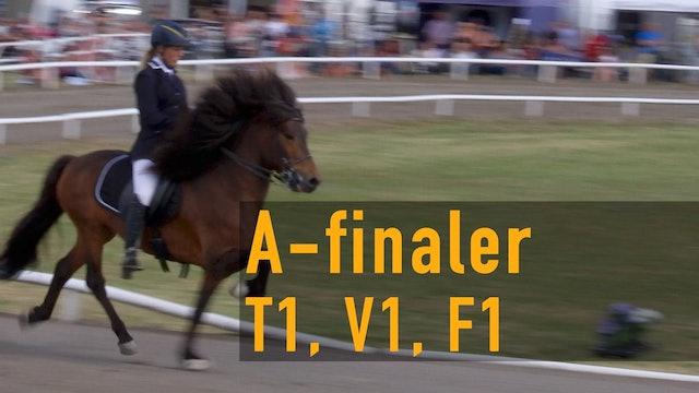 A-finaler i SM 2017: T1, V1, F1