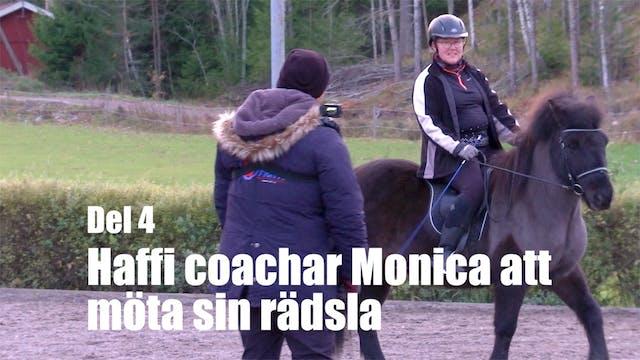 1 nov -17: Haffi coachar Monica att m...