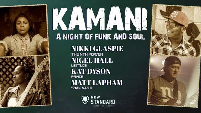 KAMANI - A Night of Funk and Soul