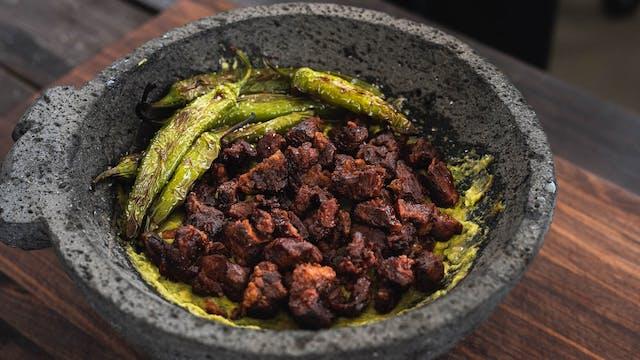 Chicharrones de ribeye