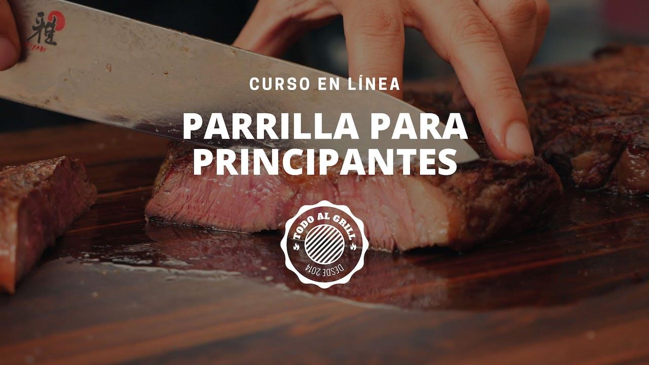 "Curso ""Parrilla Para Principiantes"""