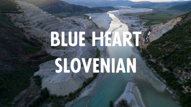 Blue Heart - Slovenian €50