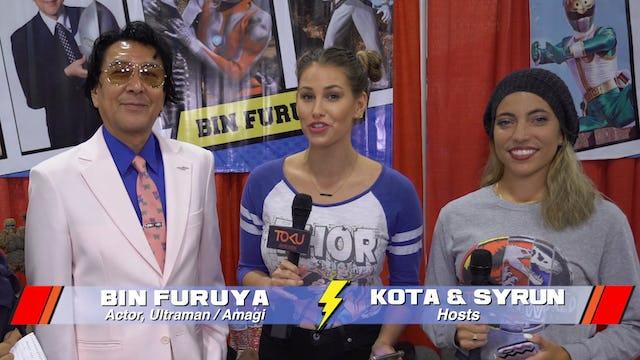 Interview with Bin Furuya - Ultraman