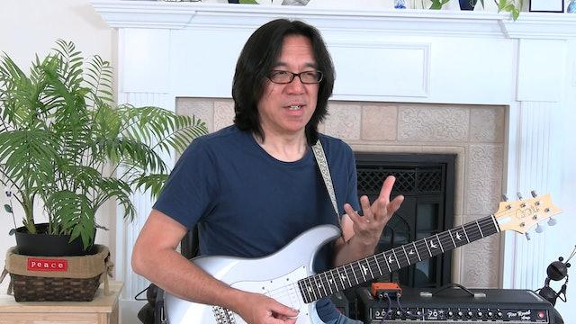 TF Lesson 005-1 String Bending Technique/Practice
