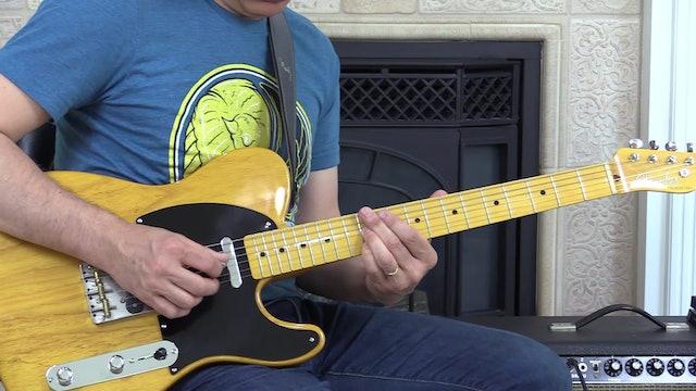 TF Demo 024 Solo Over Blues Shuffle