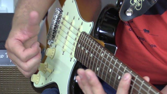 TF Lesson 025 Slap Guitar 4 Steps