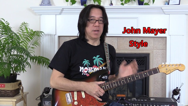 TF Lesson 051 John Mayer Style Soloing