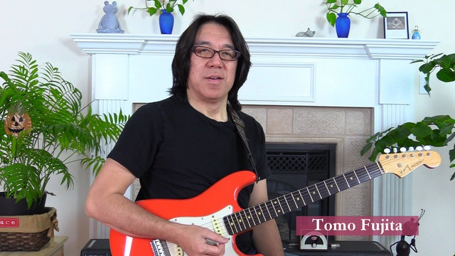 TF Lesson 014-4 Four-Note Maj7 Chords on Top 4 Strings