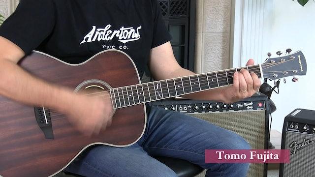B6 Open Chords - E A Em Am - Strumming - Muting