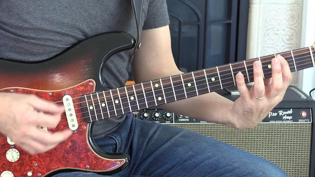 TF Lesson 055 E Blues Shuffle