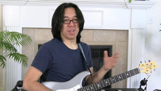 TF Lesson 006-4 Triad Arpeggios Top 4 Strings