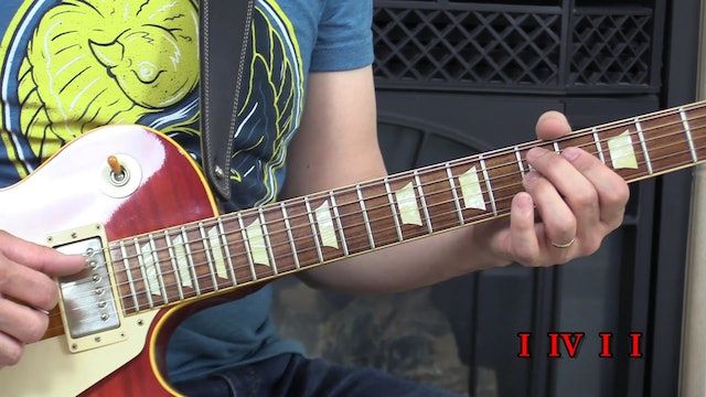 TF Lesson 019 Simple Blues Phrasing