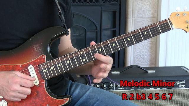 Theory 16 Melodic Minor