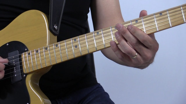TF Lesson 016 A Blues Soloing Over Chord Changes