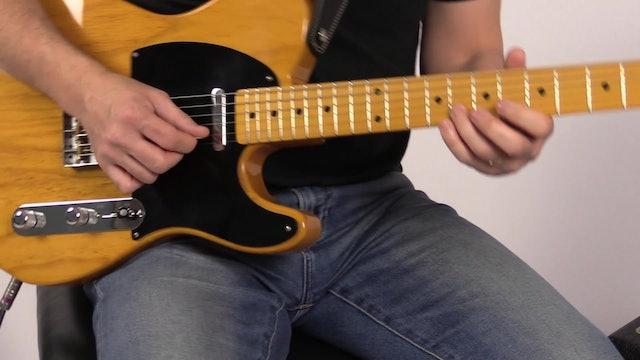 TF Demo 015 Jazz Blues + Walking Bass Line