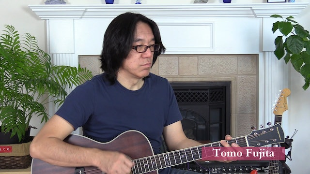 B8 Open Chords - 7 Progressions with 3 or 4 Chords