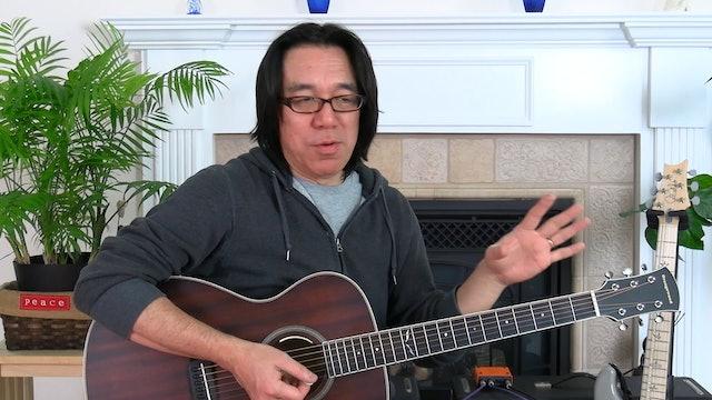 BL16. (Lesson 055-1) E Blues Shuffle Groove