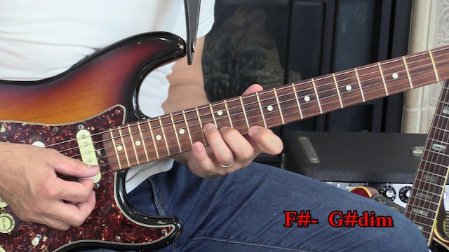TF Lesson 028 Shape B Dorian Solo Using Diatonic Triads