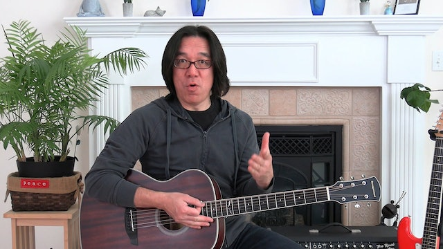 B10 Open Chords - Strumming, Counting, Words of Wisdom
