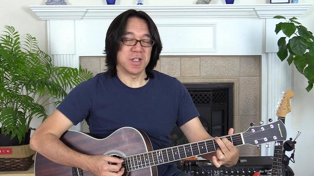 B7 Open Chords G E- C D Strumming Rhythm Tapping