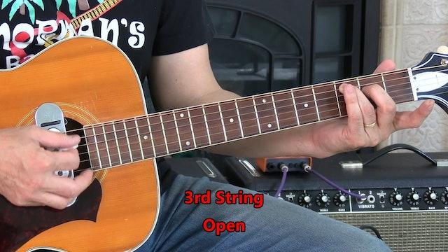 B3 Open Chord - C - Strumming Patterns