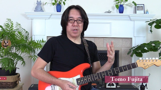 TF Lesson 014-5 Four-Note min7 Chords on Top 4 Strings