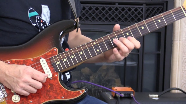 TF Lesson 043 B minor Blues Soloing