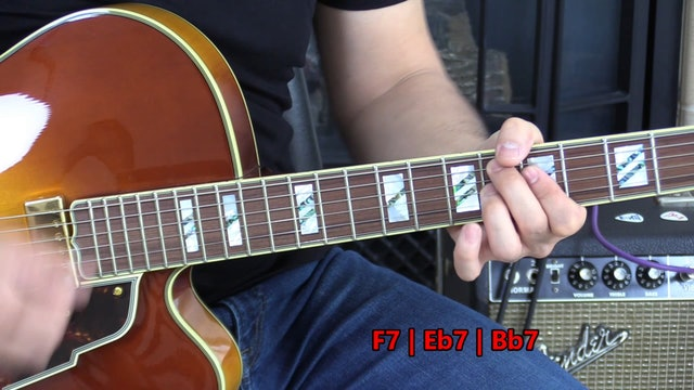TF Lesson 030 Swing Groove R 3 7 Left-Hand Muting