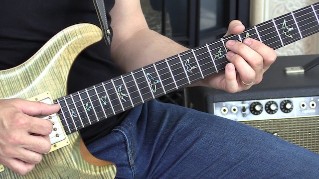 TF Lesson 026 Bb Jazz Blues Finger-Picking