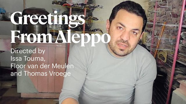 Greetings from Aleppo