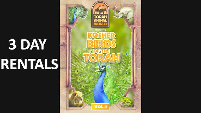 Kosher Birds of the Torah Vol. 1