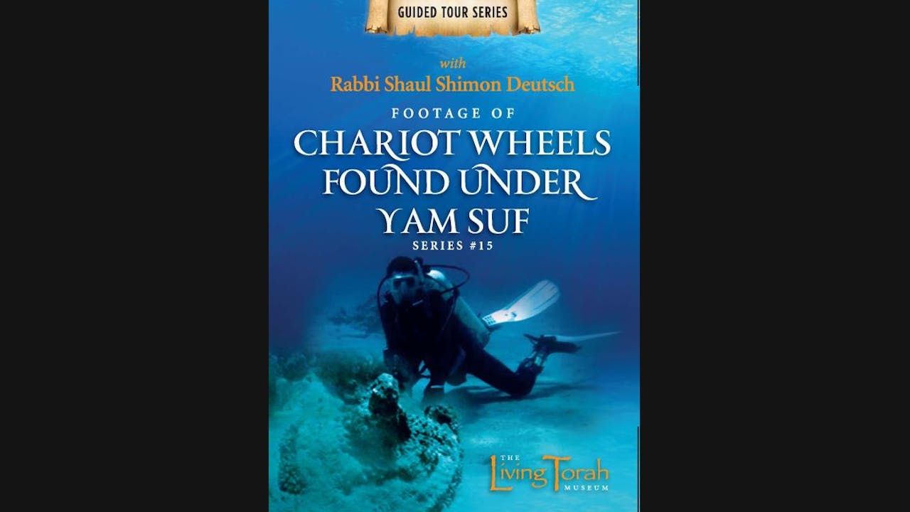 Footage of chariot wheels found under the Yam Suf