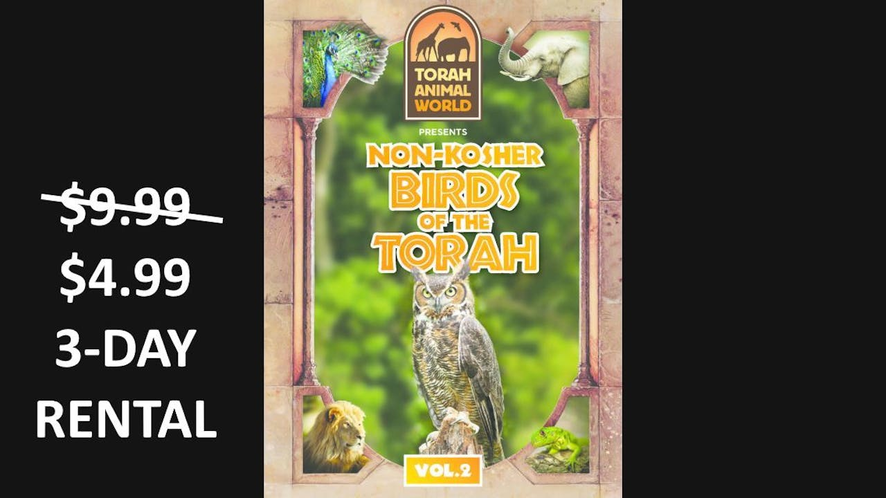 Non Kosher Birds of the Torah Vol .2