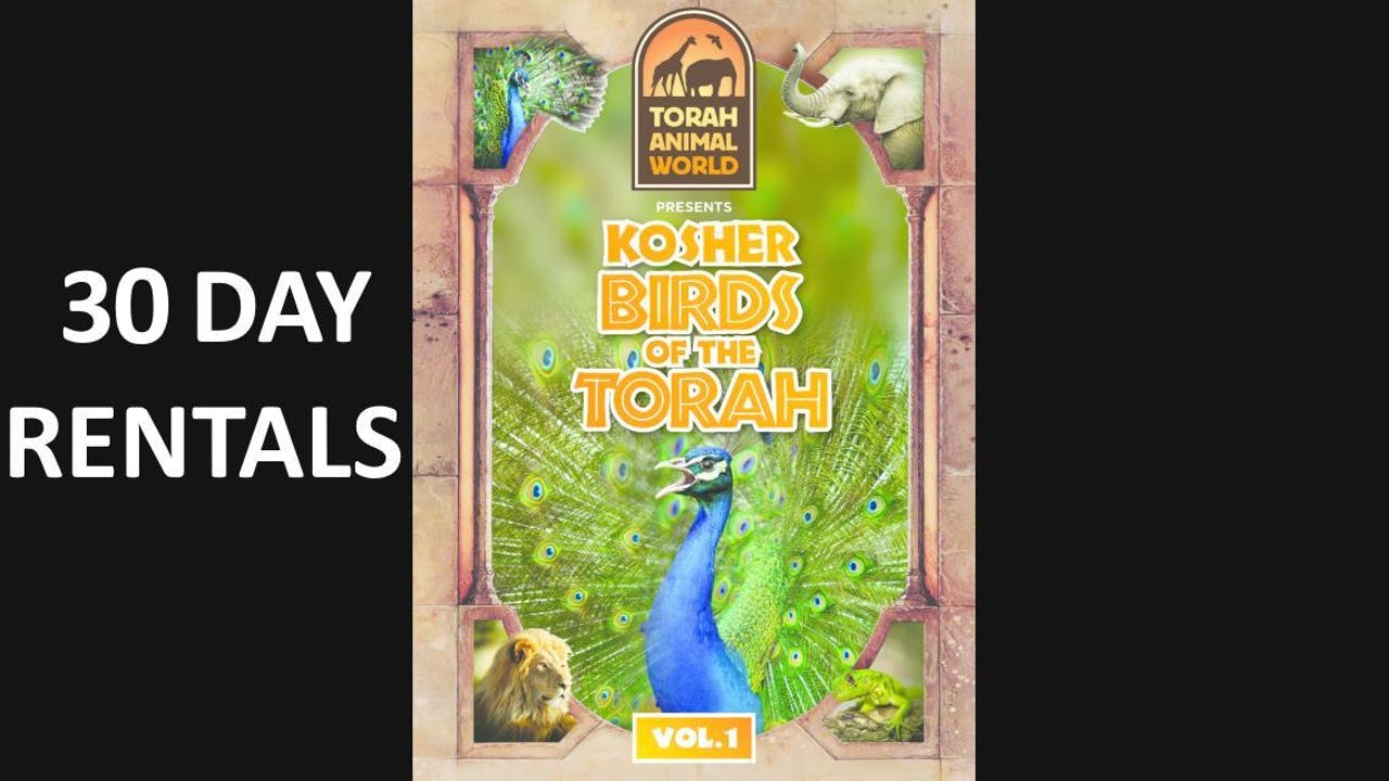 Kosher Birds of the Torah Vol. 1