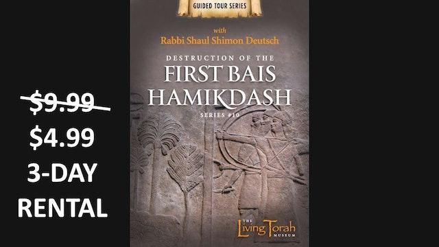 Destruction Fist Bais Hamikdash