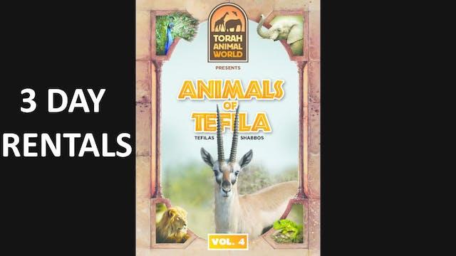 Animals of Tefila Vol. 4