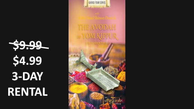 Avoda of Yom Kippur Vol. 2