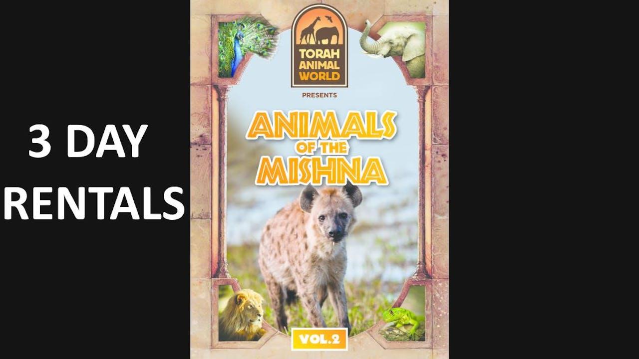 Animals of The Mishna Vol. 2