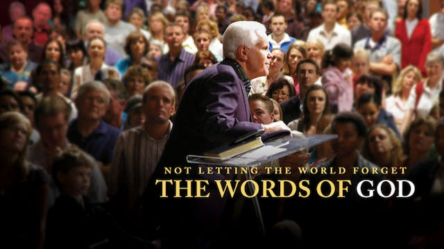 Not Letting the World Forget the Word...