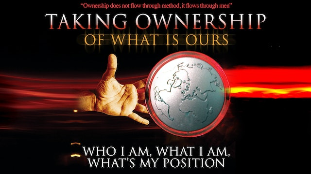 Who I Am, What I Am, What's My Position - A Prequel to Taking Ownership
