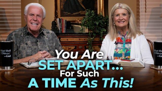You Are Set Apart…For Such A Time As ...