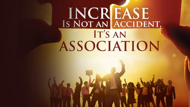 Increase Is Not An Accident, It's An ...