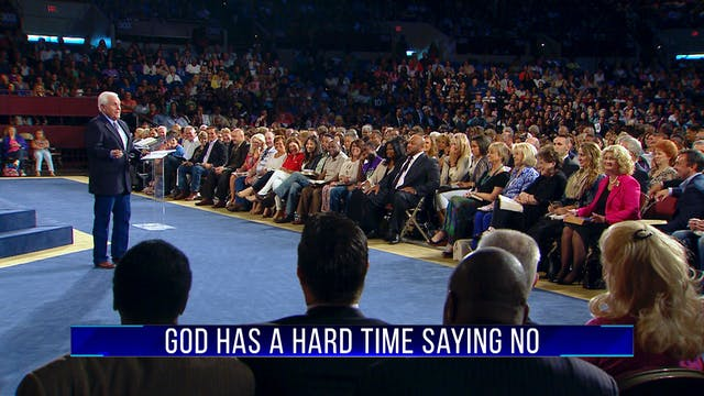 God Has A Hard Time Saying No