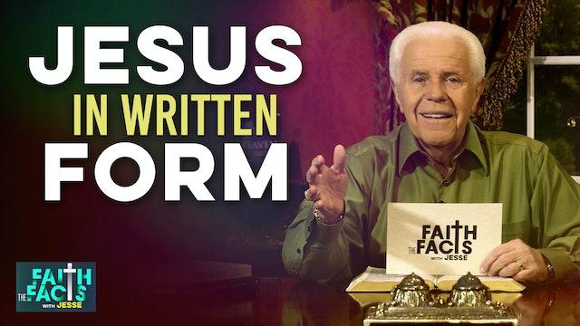 Jesus In Written Form!