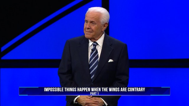 Impossible Things Happen When the Winds are Contrary, Part 1
