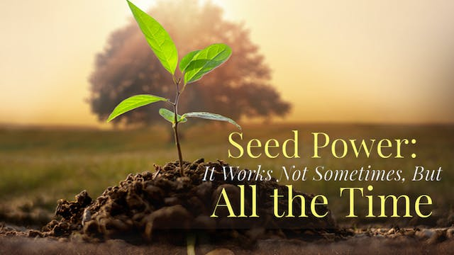 Seed Power: It Works Not Sometimes, B...