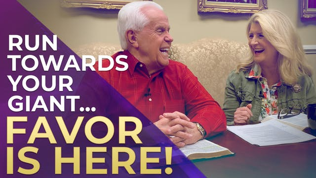 Run Toward Your Giant…Favor is HERE!