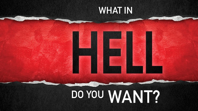 What In Hell Do You Want? - Disc 1