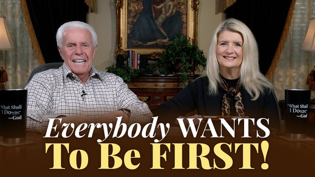 Everybody Wants To Be First!